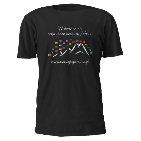 Koszulka z afrykańskimi flagami dla dorosłych