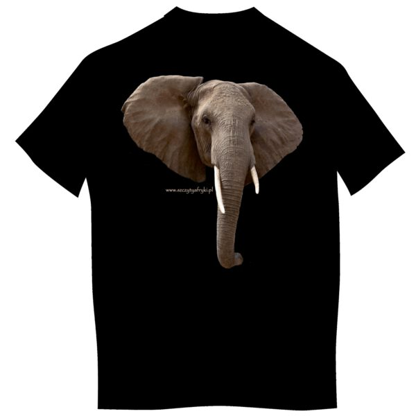 Dziecięca koszulka ze słoniem